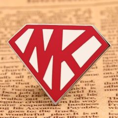 Superman Logo Enamel Pins