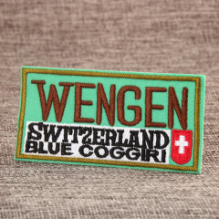 Wengen Custom Embroidered Patches