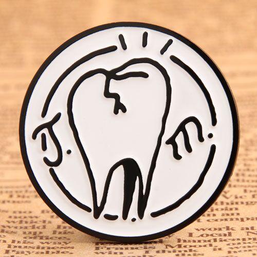 Custom Stick Figure Enamel Pins