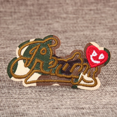 Heart Name Patches