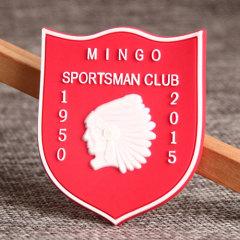 Mingo PVC Lapel Pin