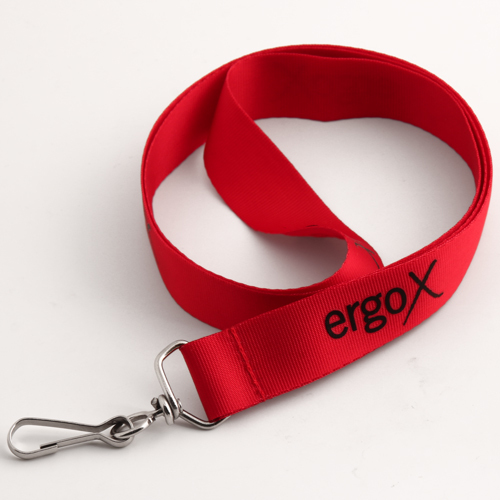 ErgoX Red Lanyards