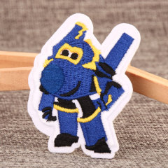 Superwings-Paul Embroidered Patches