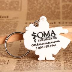 OMA PVC Keychain