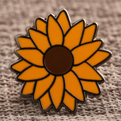 Custom Sunflower Pins