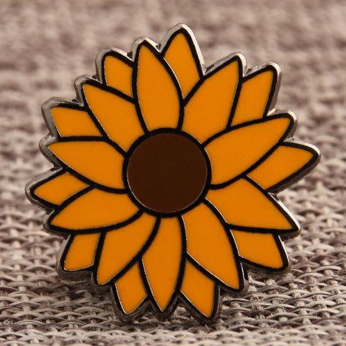 Custom Sunflower Pins