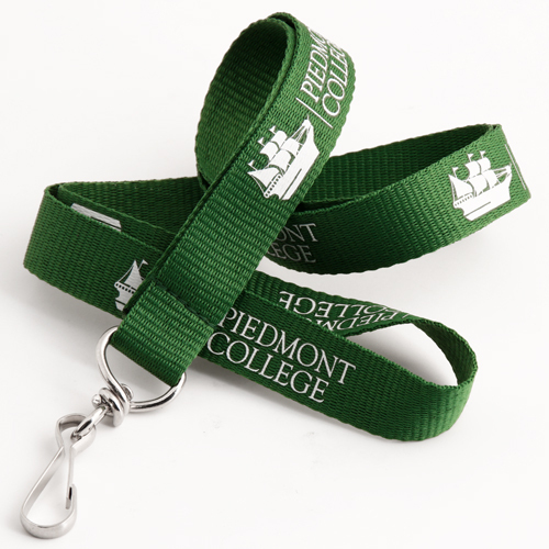Piedmont College Green Lanyards