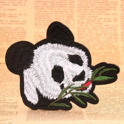 Giant Panda Custom Patches