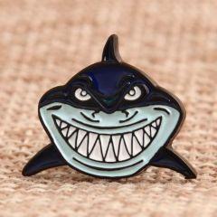 Carton Shark Custom Enamel Pins