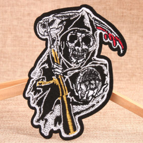 Skeleton Custom Patches