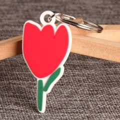 Tulip PVC Keychain