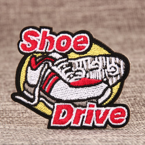 Shoe Drive Custom Patches