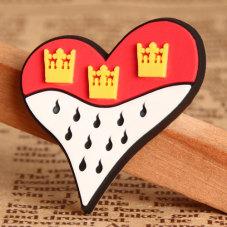 Heart PVC Lapel Pin