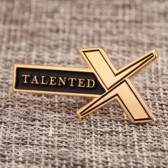 Talented X Custom Pins