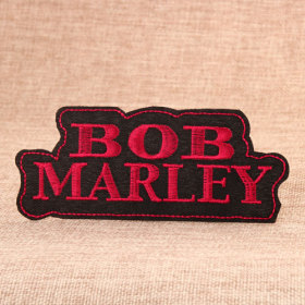 BOB MARLEY Name Patches