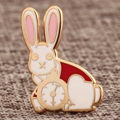The Clock Rabbit Custom Pins