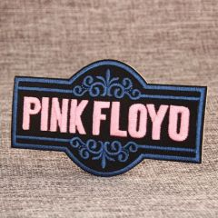 Pink Floyo Custom Patches