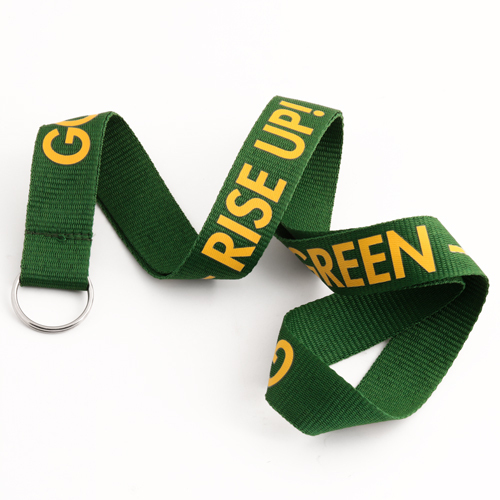 Go Green-Rise Up Lanyards