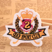 GOLF SPORTS CLUB Embroidered Patches
