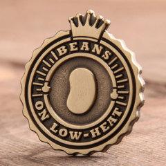 Low-Heat Beans Custom Pins