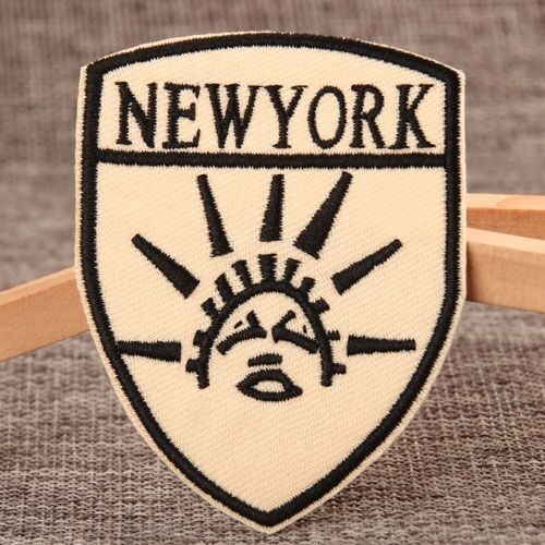 New York Custom Patches For Clothes
