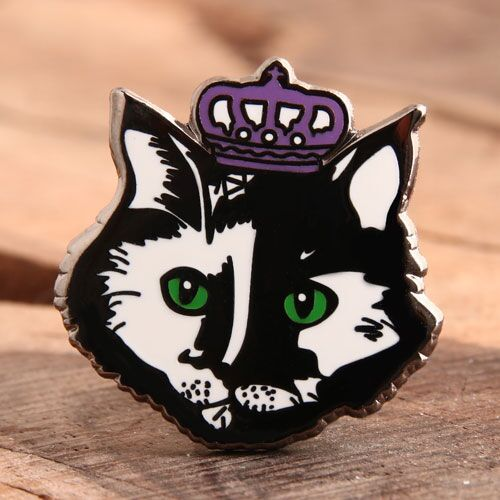 Cat Queen Enamel Pins