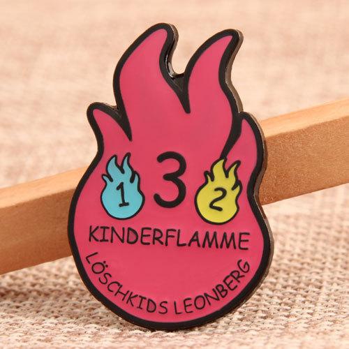 Custom Kinderflamme Pins
