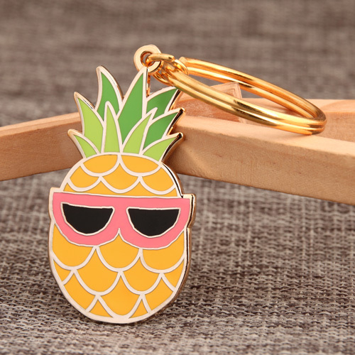Pineapple Custom Keychains