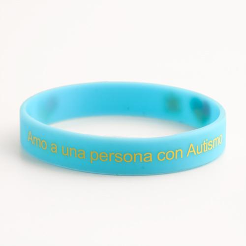 Amo a una persona con Autismo wristbands
