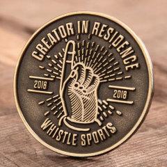 Whistle Sports Custom Pins