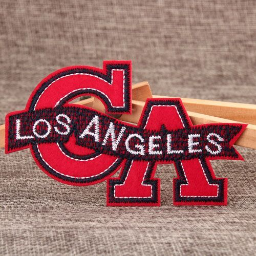 Los Angeles Custom Embroidered Patches No Minimum