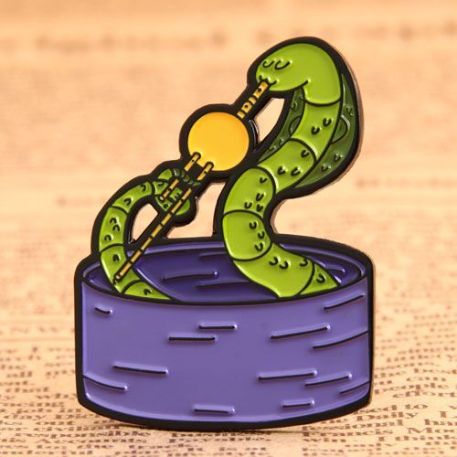 Custom Cobra Enamel Pins