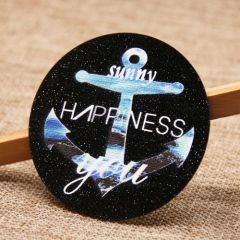 Happiness Woven Patches