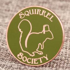 Squirrel Society Custom Pins
