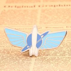 Blue Airship Custom Pins