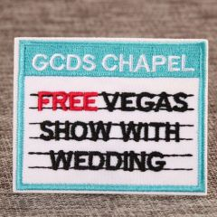 Wedding Show Custom Patches