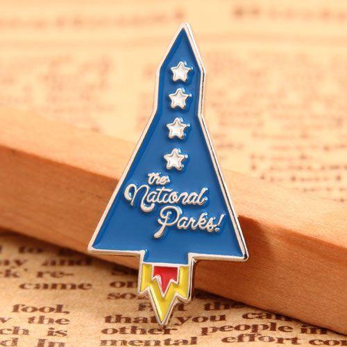 Rocket Custom Enamel Pins