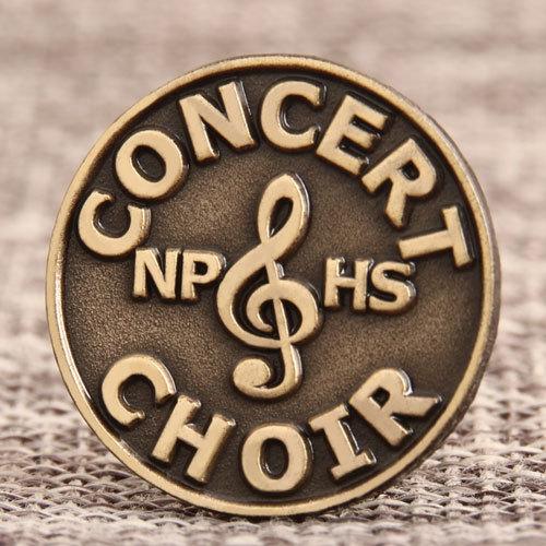 Concert Choir Custom Pins