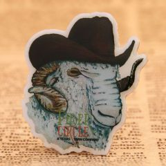 Gentleman Sheep Custom Pins