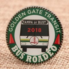 Golden Gate Transit Pins