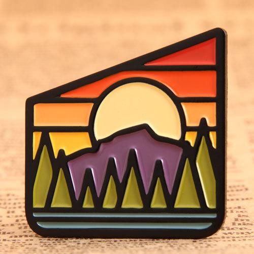 Sunrise Custom Pins
