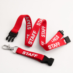 Staff Custom Breakaway Lanyards