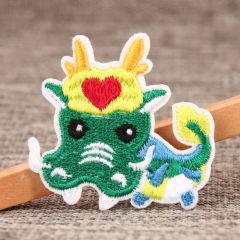 Chinese Dragon Custom Embroidered Patches