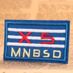 XS Embroidered Patches
