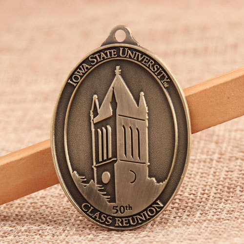 ISU 50th Reunion Custom Made Medals