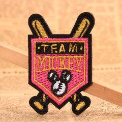 Team Mickey Custom Patches