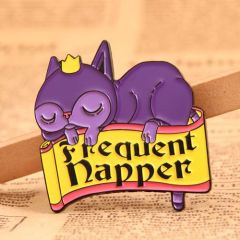 Frequent Napper Custom Pins