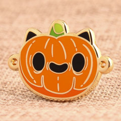 Custom Pumpkin Pins