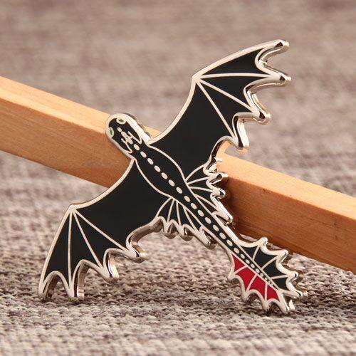 Flying Monster Custom Pins