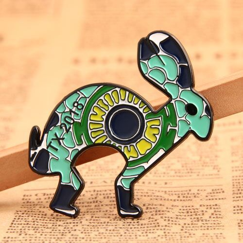 Personalized Rabbit Custom Pins